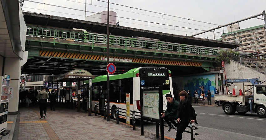 高田馬場駅高架下