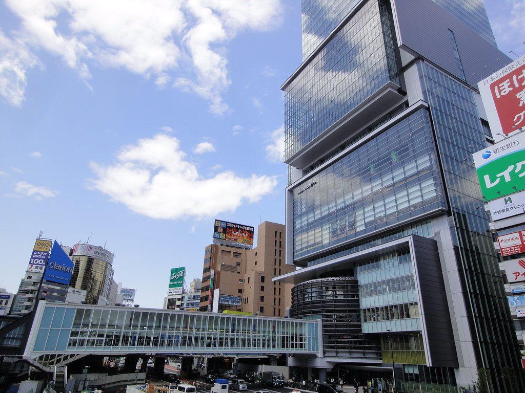 渋谷のオフィスビル